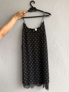 H&M Polka Dot Slip Dress