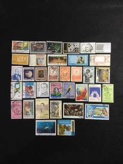 Venezuela 35 Different Used Stamps