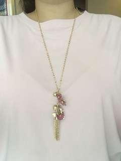 Long Floral Necklace