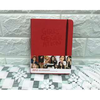 🈹2012 Girls' Generation Diary SNSD 少女時代2012日記簿 (連全員postcard)