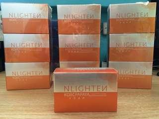 Nlighten kojic papaya soap w/ glutathione