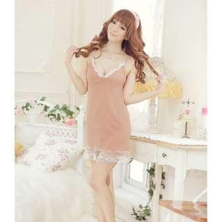 TCWK Sexy Women Skin Lingerie Underwear Sleepwear D604