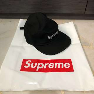 Supreme SS18 Military Camp BLACK cap hat