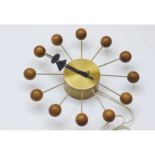HOWARD MILLER GEORGE NELSON MID CENTURY VINTAGE BALL CLOCK