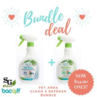 Bacoff Pet Area Clean & Refresh Bundle