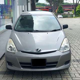 Toyota WISH Cheap Rental! Grab Friendly*