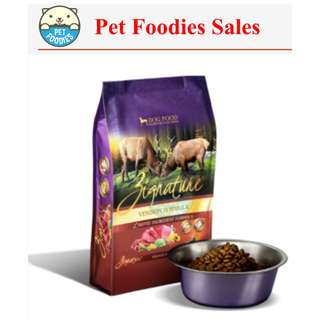 [Pet Foodies] ZIGNATURE DOG FOOD 4LB, 13.5LB, 27LB