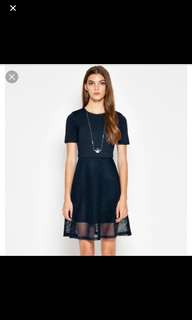 Love and Bravery dress in Navy