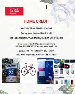 Kredit segala macam barang