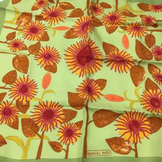 Hermes silk handkerchief - Hermes 絲質手絹