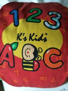 K's Kids 2-in-1 Talking Ball, ABC and 1-10