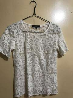 MDS Lace Blouse