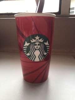 Starbucks Christmas edition glass