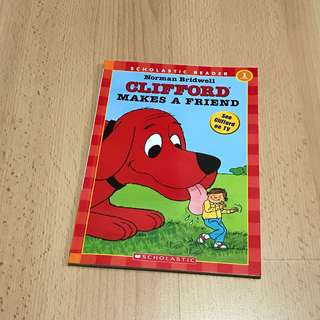 NEW Clifford Makes a Friend Storybook for Children
