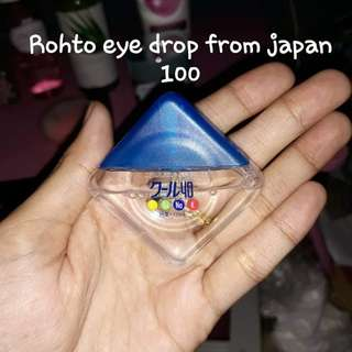 Rohto eye drop 80% full