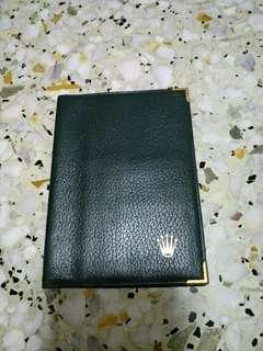 Rolex passport holder Authentic