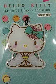 HELLO KITTY造型悠遊卡-和服