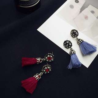Tassel Earring Assorted Color