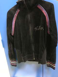Keller 黑色絲絨外套 jacket