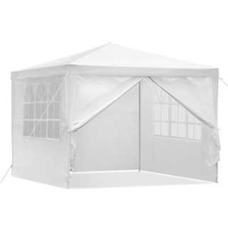 3x3M All Weather Gazebo - White