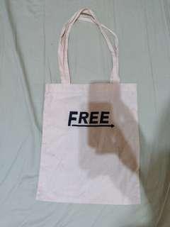 遊學前出清 日本購入 FREE帆布包