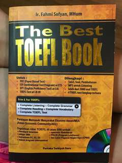 The Best TOEFL BOOK