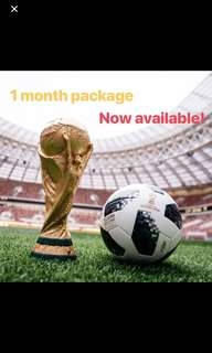 World Cup EPL Champions League HBO UK US IPTV