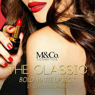 M&Co New Classic Bold Matte Collection