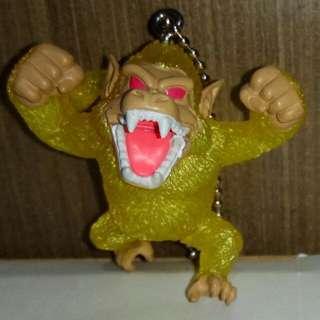 龍珠 罕有金色大猿 udm 匙扣