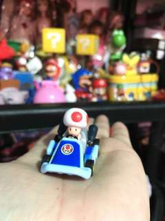 Super mario toad mushroom cart