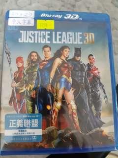 正義聯盟 藍光 3D+2D 行版 中文字幕 Justice League blu ray