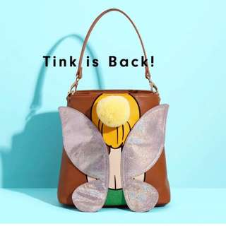 Danielle Nicole x Disney 聯名款 Tinker bell 小精靈立體翅膀後背手提包