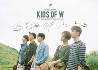 WINNER: Kids of W (2016 SEASON'S GREETING)