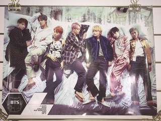 BTS: Wings A3 Poster