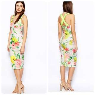 Ted Baker Taylar Midi Dress Look A Like