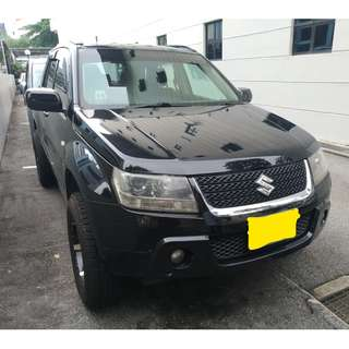 Suzuki Vitara 2.0L - Economical, Spacious, Rugged, Affordable Rent, Short Term Drive!