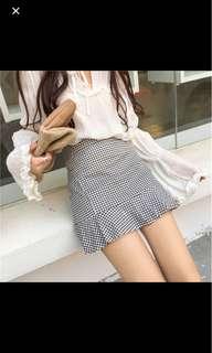 Gingham Mermaid skirt