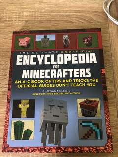 Minecraft Encyclopedia for mincrafters