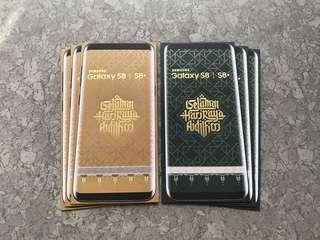6pcs Samsung Galaxy S8/S8+ raya packet / sampul raya