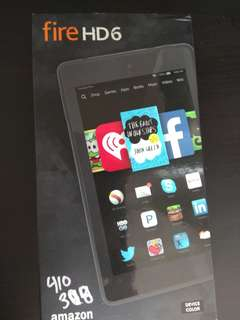 Brand New Fire HD 6