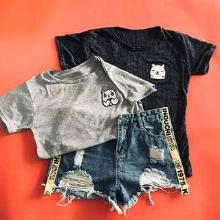 patch t-shirt bacbac