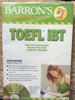 BAROON'S TOEFL IBT
