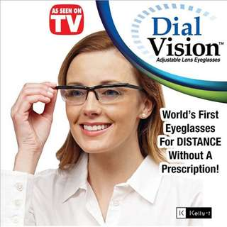 Adjustable Lenses Eyeglasses
