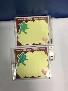 青蛙🐸 Memo紙