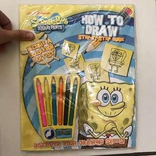 Buku anak / children book buku mewarnai spongebob
