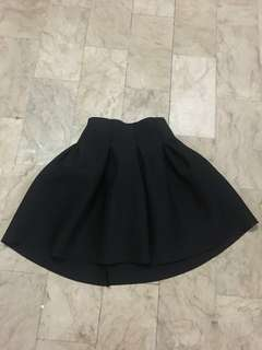 Black Skirt (High Waist)