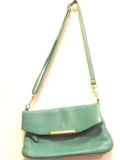 Tiffany綠優雅側背包#一百元好物