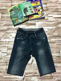 Denim shorts (slim type)