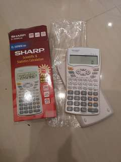 Sharp Scientific Calculator EL-509WM-WH