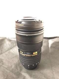 Nikon 24-70 f2.8 ed. Non vr